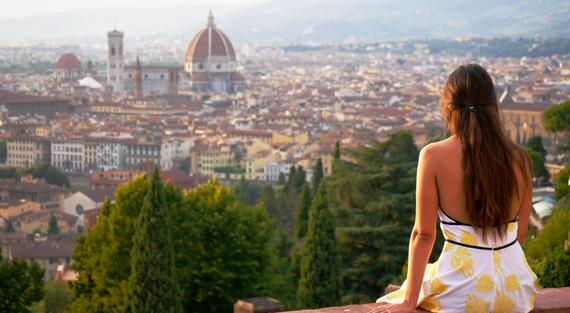 Donna a Firenze