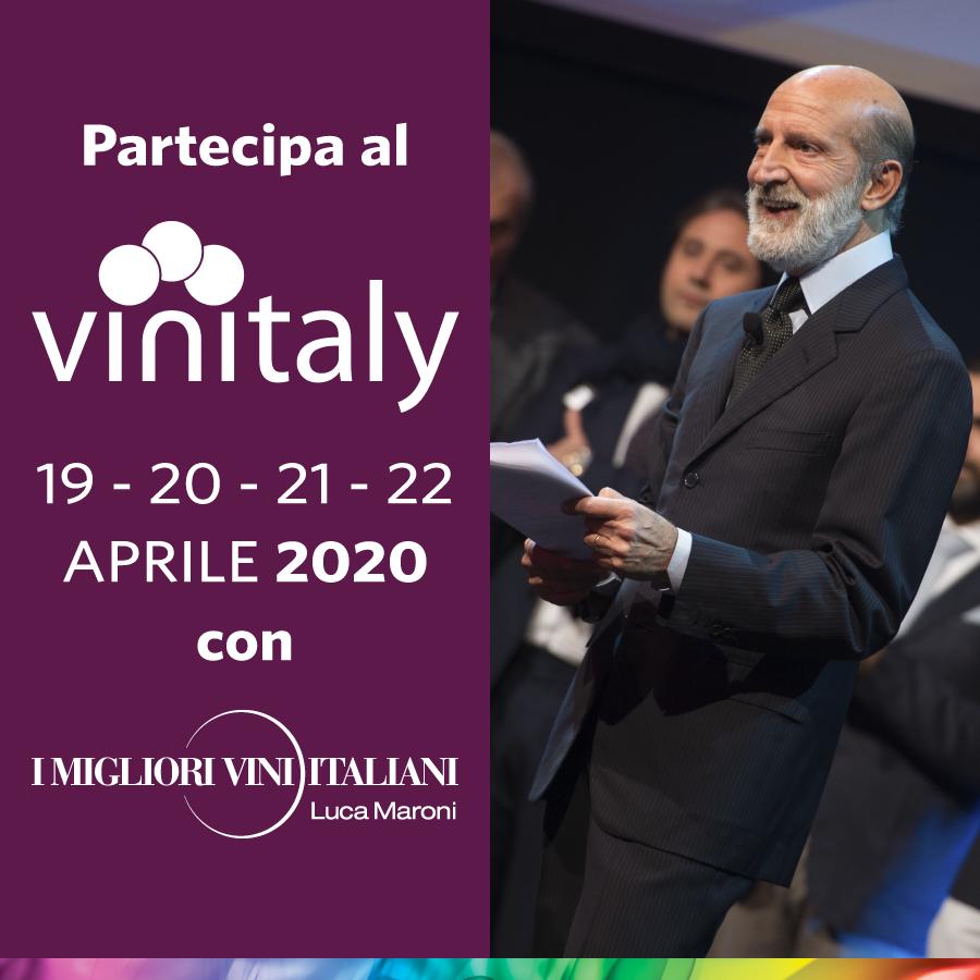 Partecipa al Vinitaly con I Migliori Vini Italiani di Luca Maroni