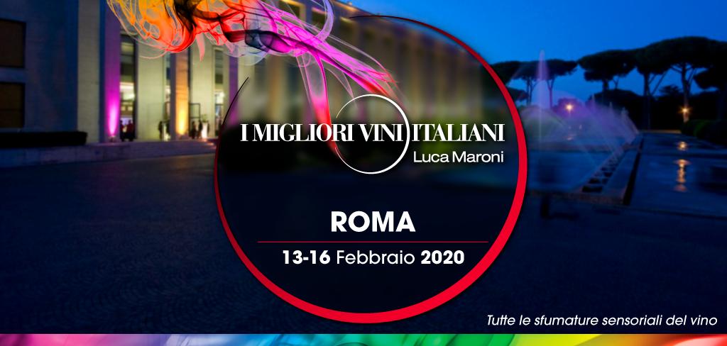 I Migliori Vini Italiani Roma, 13 – 16 Febbraio 2020