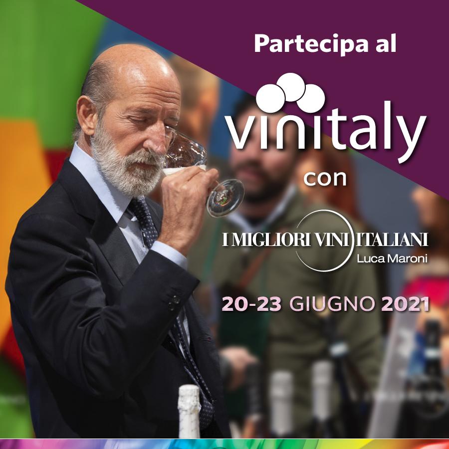 Vinitaly 2021 insieme a I Migliori Vini Italiani di Luca Maroni